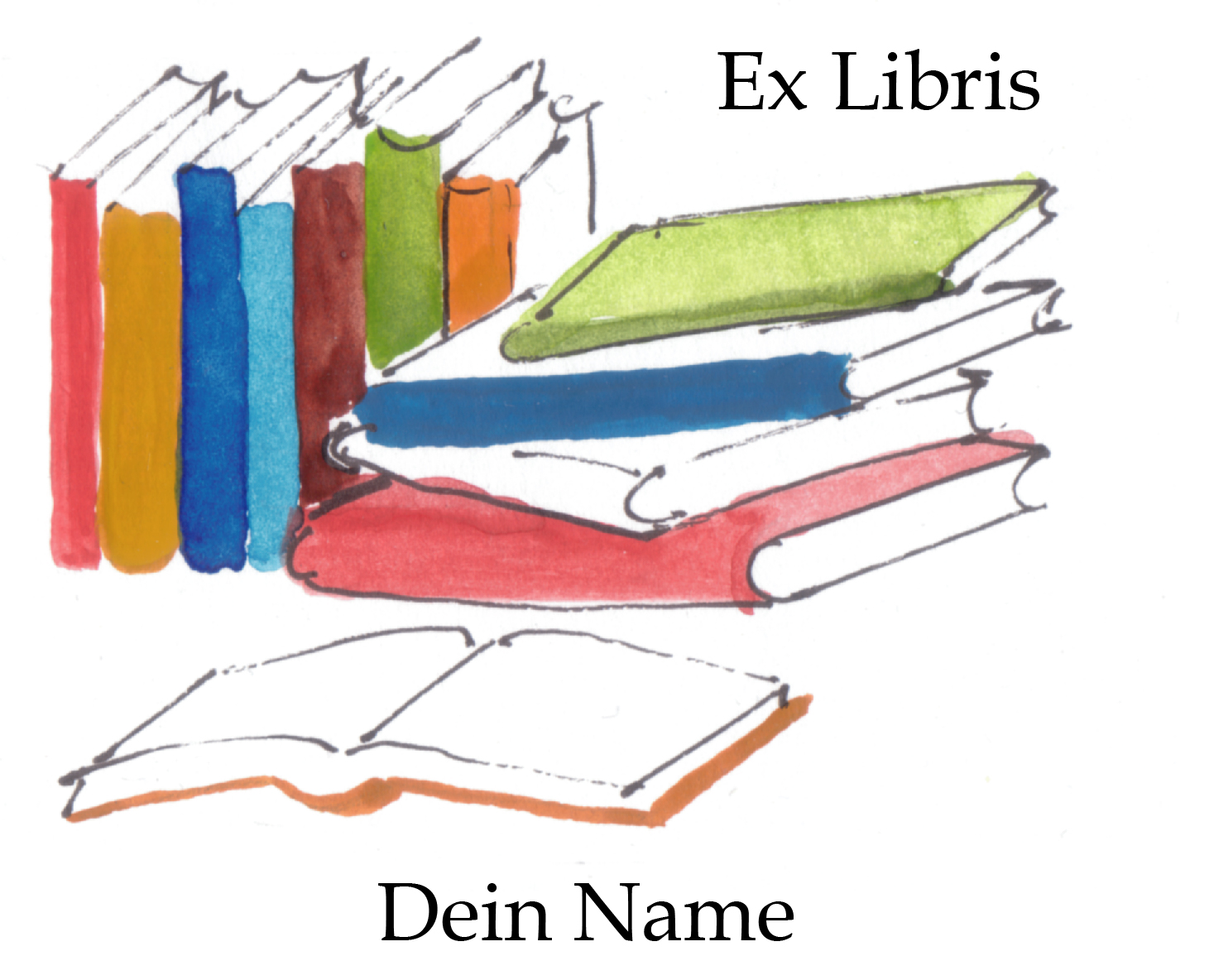 Ex Libris Shop - Große Auswahl an personalisierten Exlibrismotiven