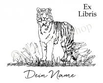 Bookplate stickers •Tiger_2•